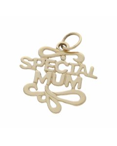 Pre-Owned 9ct Yellow Gold Special Mum Pendant
