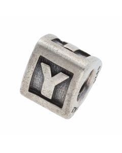 Pre-Owned Pandora Silver Initial Y Charm