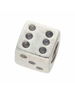 Pre-Owned Pandora Silver Dice Charm