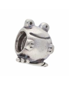 Pre-Owned Pandora Silver Frog Charm