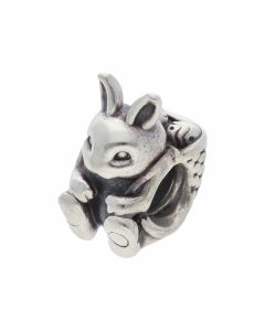 Pre-Owned Pandora Silver Bunny Charm