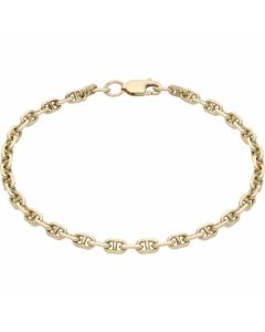 Pre-Owned 9ct Yellow Gold 7.5 Inch Anchor Link Bracelet
