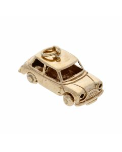 Pre-Owned 9ct Yellow Gold Car Charm