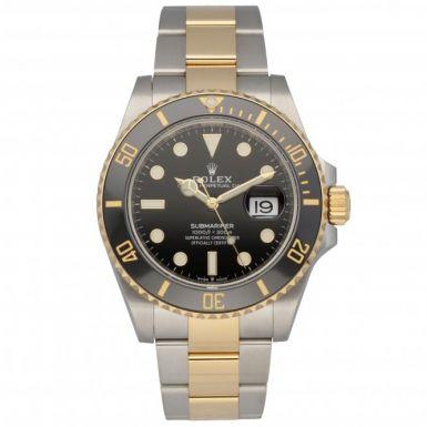 Unworn Rolex Submariner Date 126613LN March 2021 Watch