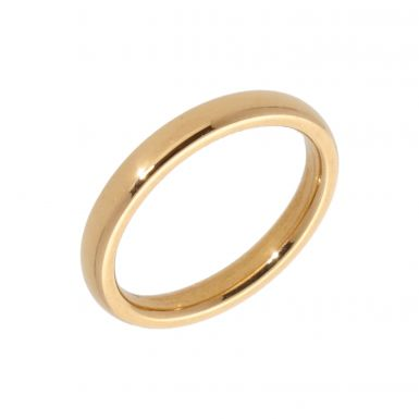 Pre-Owned 22ct Yellow Gold 3mm Wedding Band Ring