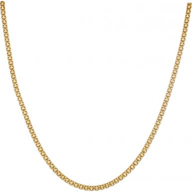 Pre-Owned 9ct Yellow Gold 19 Inch Fancy Link Necklace