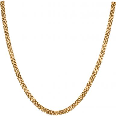 Pre-Owned 9ct Yellow Gold 18.5 Inch Fancy Link Necklet